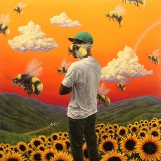 Flower Boy cover art from Pitchfork.com (Columbia / 2017)